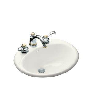 Kohler Lavatory Sink by Kohler K 2905 8 0 Farmington Self Cast Iron