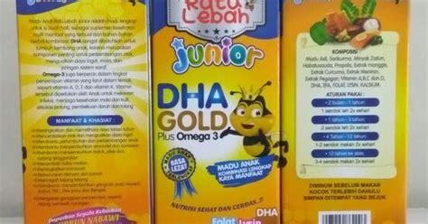 Baru Madu Untuk Anak Ratu Lebah Junior Dha Gold Plus Omega 3 toko sahla herbal sms or wa 08561848084 madu anak ratu lebah junior