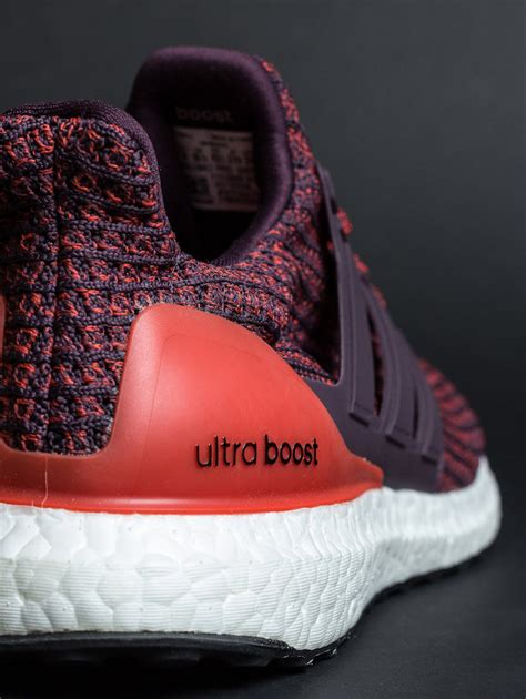 Adidas Ultra Boost 30 Primeknit Burgundy Maroon adidas ultra boost 4 0 burgundy cp9248 sneaker bar detroit