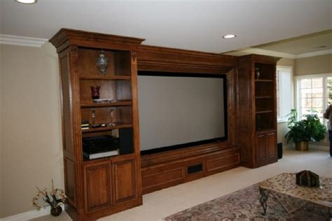 wall units awesome custom built home entertainment center