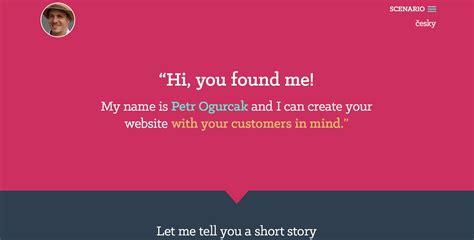 design inspiration web portfolio ogurcak a web designer portfolio flat design inspiration