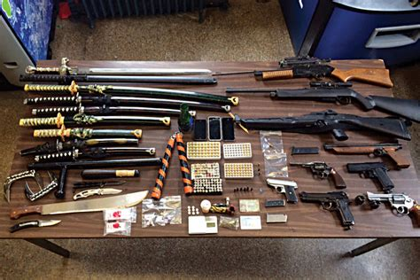 arsenal of weapons police find huge weapons arsenal near boro park hamodia
