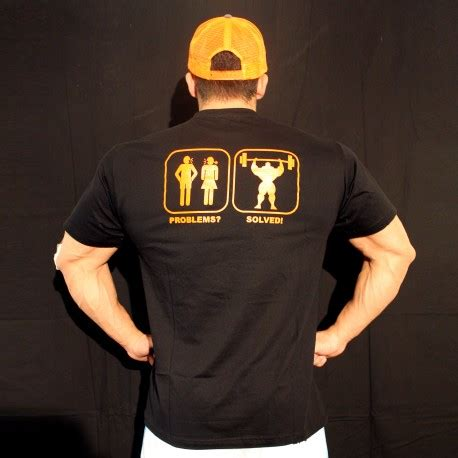 Kaos T Shirt Problem Solved t shirt black problem soved