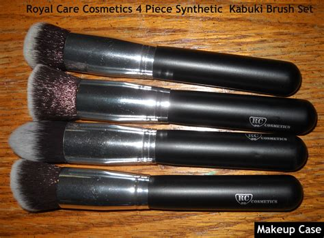 Jual Sigma F80 Brush dupe for sigma f80 f82 f84 and f86 brushes royal care cosmetics premium 4 synthetic