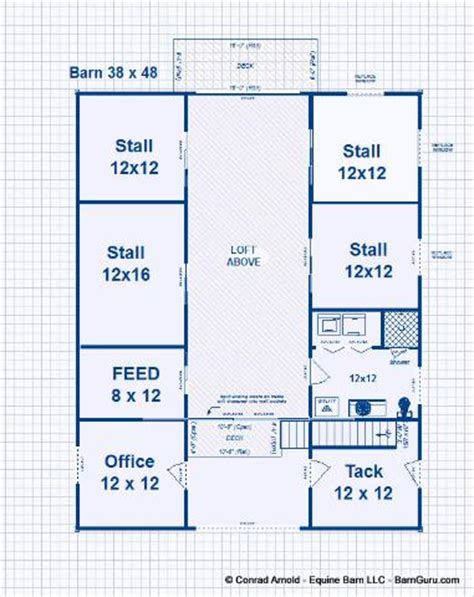 barns with living quarters floor plans 4 stall barn with living quarters joy studio design