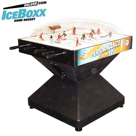 dome hockey table coin operated iceboxx dome hockey deluxe dome hockey tables hockey by performance