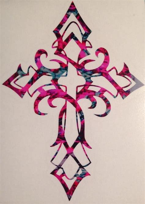 celtic cross truck vinyl decal 5 quot christian faith jesus