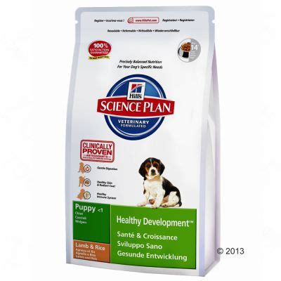 hill s healthy advantage puppy hill s canine puppy lam rijst zooplus nl