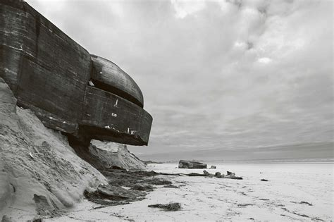 the sea before us at normandy books bint photobooks on the eerie crumbling bunkers