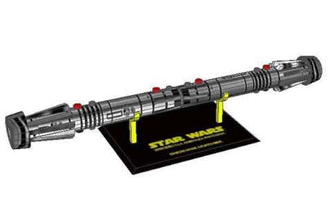 Papercraft Lightsaber - darth maul papercraftsquare free papercraft