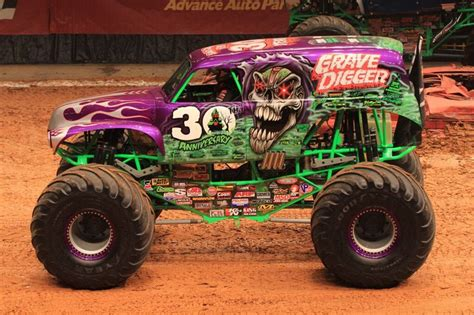 purple grave digger truck 204 best truck images on
