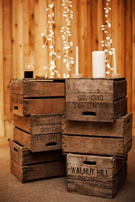Decorating Ideas Using Wooden Crates How To Furnish Your Home With Repurposed Wine Crates