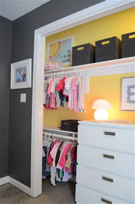 The Closet Splash Of Color And The Splash On Pinterest Closet Without Doors