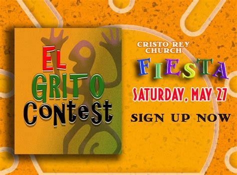 contest sign up cristo 2017