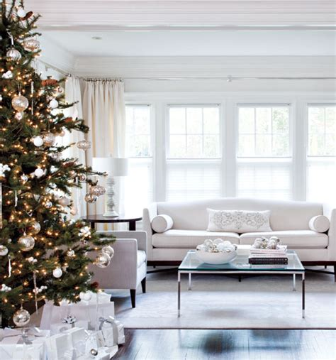 decorating in white elegant white home decorated for christmas in toronto