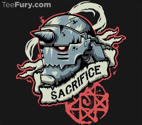 Kaos Metal Peace 1 1 sacrifice fullmetal alchemist t shirt fullmetal