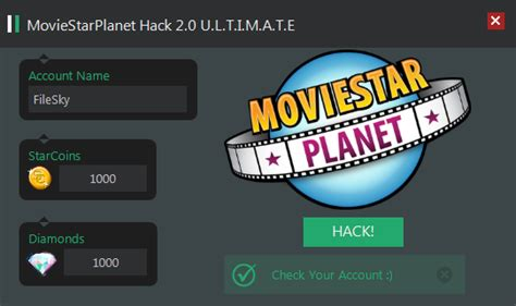 movie star planet msp hack tool moviestarplanet hack mods features of moviestarplanet hack