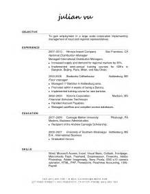 Resume Cover Letter Barista Resume Barista Resume Tips And Description Exles Resume Objectives For Barista