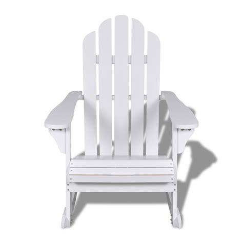 sedia a dondolo legno articoli per sedia a dondolo in legno bianco vidaxl it