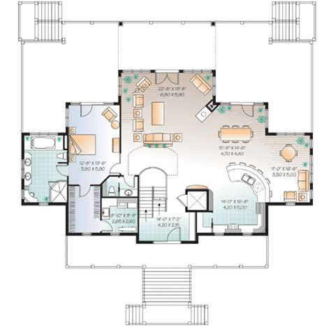 vacation house plans plan w21638dr vacation house plan e architectural