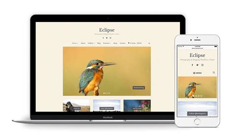 eclipse theme woocommerce eclipse best photography portfolio wordpress theme wpzoom