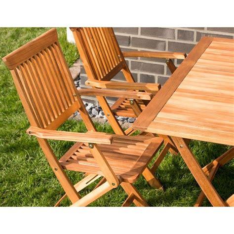 sedie giardino legno tavolo e sedie con braccioli da giardino in legno pieghevoli