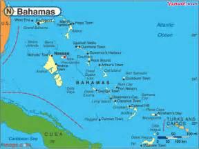Bahamas World Map by Bahamas Map