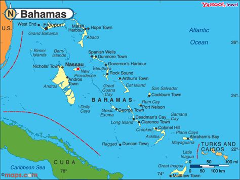 the bahamas map maps charts gps of the bahamas islands