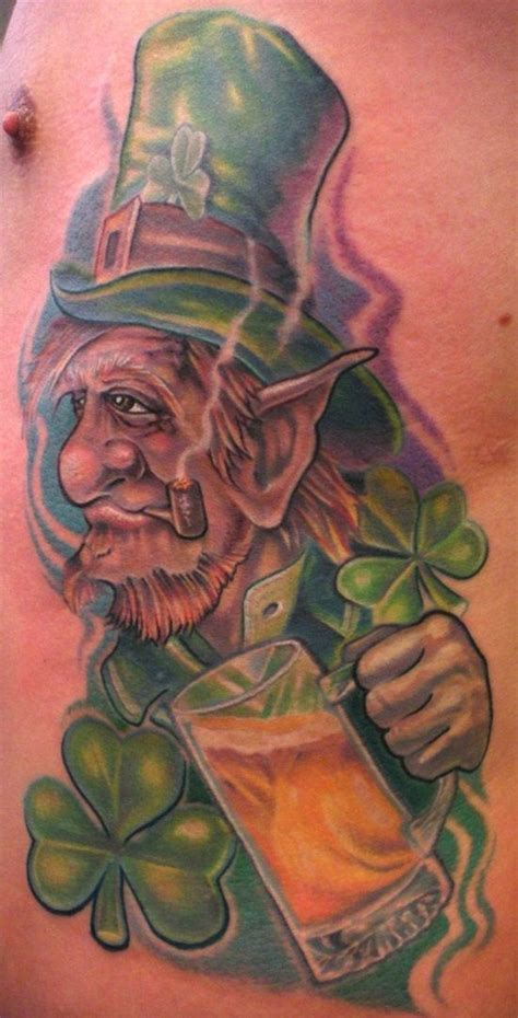 leprechaun tattoos for men best 25 leprechaun tattoos ideas on