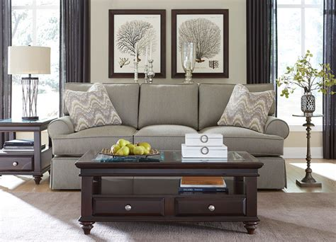 Havertys Furniture Transitional Living Room Furniture