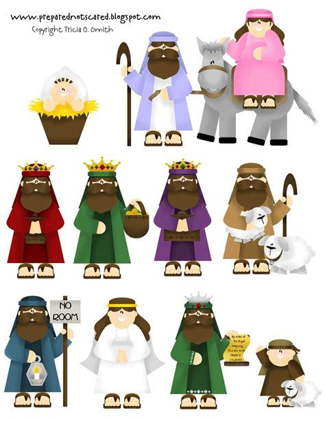 printable nativity ornaments printable nativity set laminate glue magnets on the back