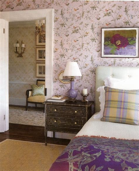 lavender wallpaper for bedroom lavender wallpaper bedroom hummingbirds cole son