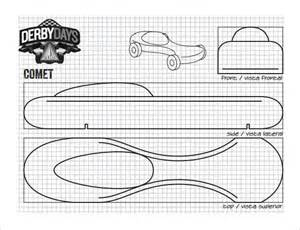 templates for pinewood derby cars free 21 cool pinewood derby templates free sle exle