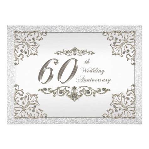 60th wedding anniversary 60th wedding anniversary invitation card