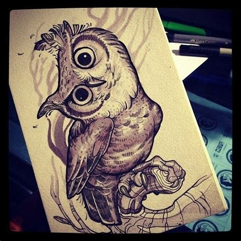 owl tattoo new york ink tattoo ink drawing owl tattoos and trends
