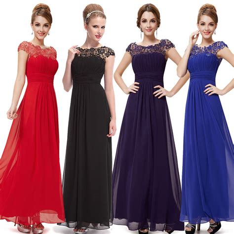 ebay evening dresses uk long formal evening prom party dress bridesmaid dresses