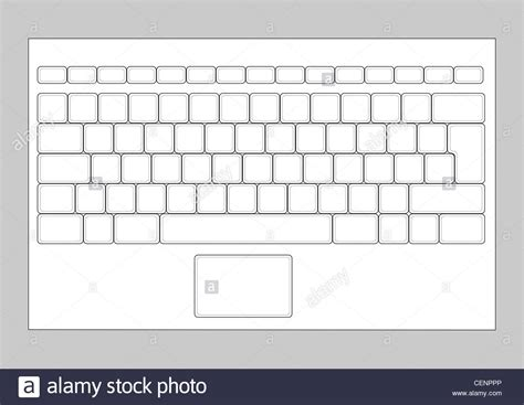 layout input html laptop blank keyboard layout computer input element stock