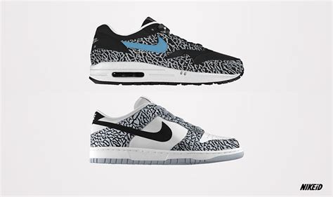 elephant print sneakers nike id elephant print sneakers available now alphastyles