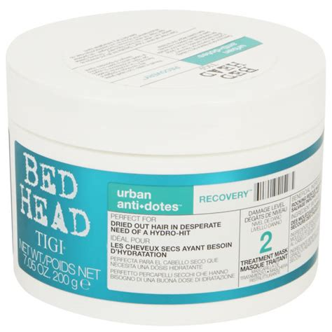 bed head urban antidotes tigi bed head urban antidotes recovery treatment mask 200g free shipping