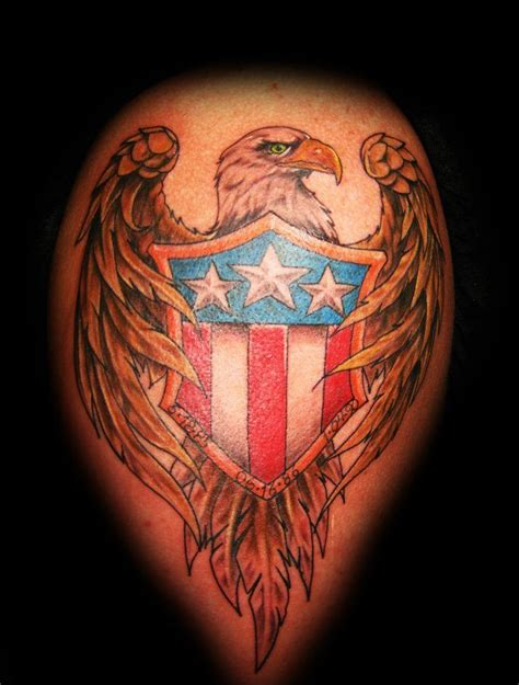 american pride tattoo 42 best tattoos traditional eagle and flag images on