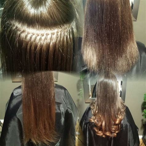 so cap extensions on short hair 13 best before after images on pinterest euro hair