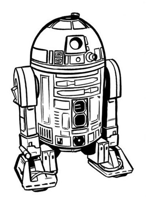 r2d2 coloring pages printable r2d2 coloring page chuckbutt intended for r2d2 coloring