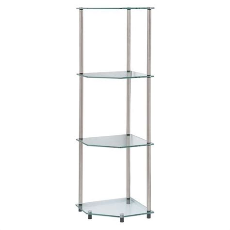 Free Standing Corner Shelf by 4 Tier Corner Shelf 157005