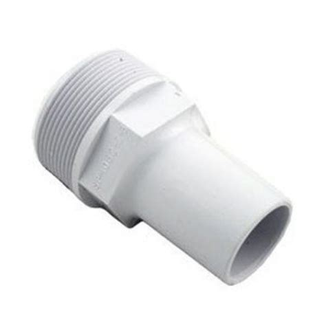 Vacuum Fitting Wall Fitting 1 5in Hitam 2 inch mpt x 1 1 2 inch hose smooth adaptor hayward spx1082z3 ace pools