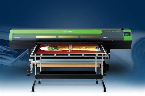 hybrid uv led flatbed printer versauv lej 640 roland dga