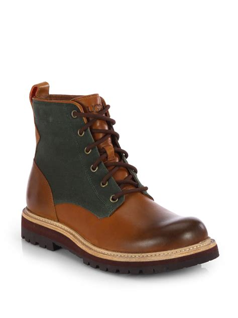 ugg waterproof boots ugg huntley waterproof boots in brown for lyst