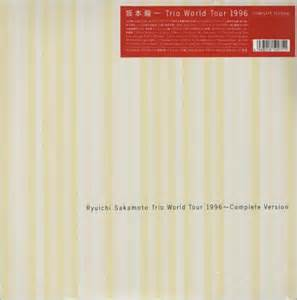 ryuichi sakamoto trio world   complete works japanese laserdisc lazerdisc