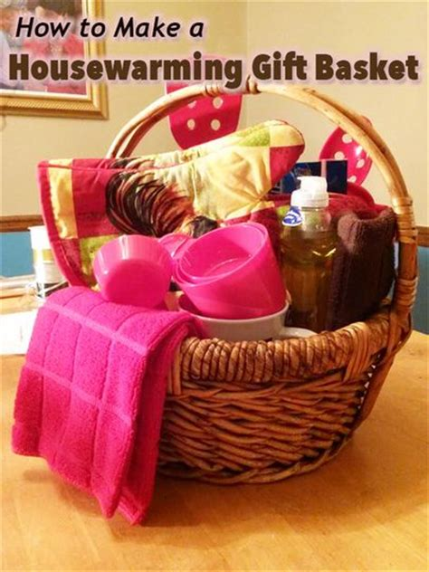 how to create a thoughtful housewarming gift 54 best diy how to make a gift basket images on pinterest