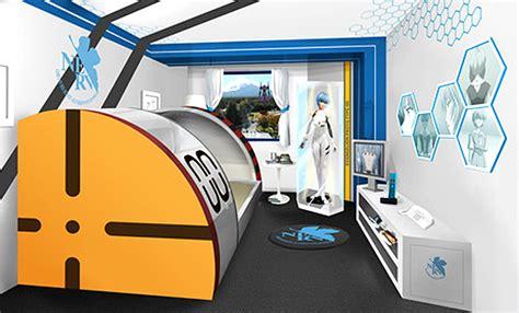 theme hotel ep 1 anime hotel room popsugar tech