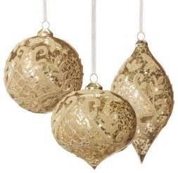 Gold Christmas Ornament Sets » Home Design 2017